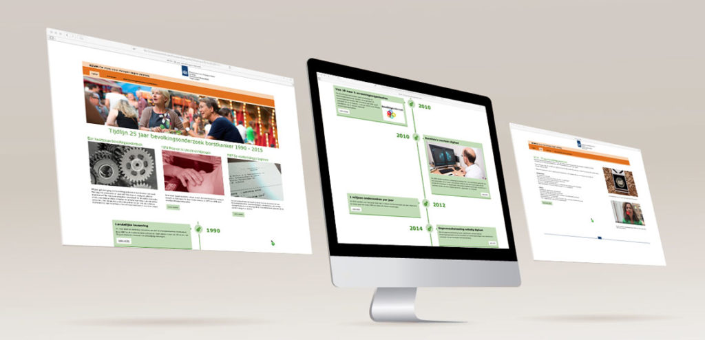 Online projecten RIVM